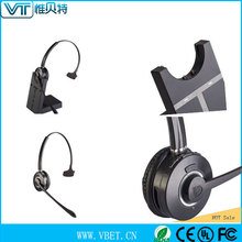 2 way radio wireless contact centre headset for Sweden market