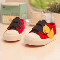 Manufacturer yellow duck children's shoes casual students shoes
