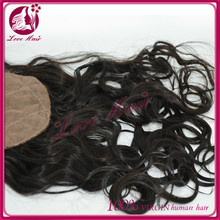 Made in china be dying for natural wave silk top closure dependence silk base lace closure thanks brazilian hair black color