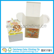 Wholesale cardboard packaging box for lunch box