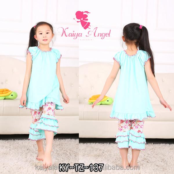 2015 china cheap summer clothing sets baby clothing