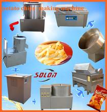 zhengzhou solon potato chips making equipment / potato chips line / small potato chips making machine