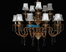 15 Arms Modern Crystal Light Pendant with 3 Year Warranty CCSPHB008-10+5