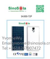 2015 Hot sale & High performance 300W SinoSola Polycrystalline Solar Panel made by 156*156mm cells