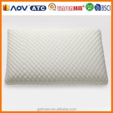 2014 new product hot sale memory foam bamboo plush massage pillow