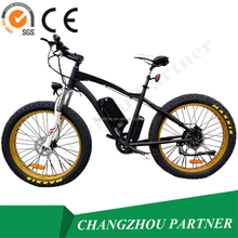 Best selling fat tire electric bike/bicycle with lithium battery