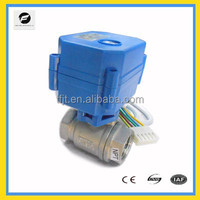 DC3-6V ,12V motor control valve for rrigation,plumbing service,hot water heating project