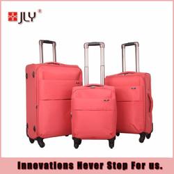 JLY ladies style of soft luggage/fashion luggage set hot-selling