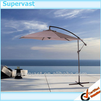 10ft Alu. Banana Hanging Outdoor Umbrella & Umbrella Parts