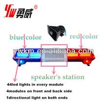 led vehicle visor alarm warning light