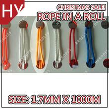 hyropes rr0155 naranja de color rojo finshing trenzado línea de pesca de línea de lanza