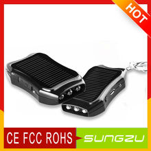 Keychain Solar Mobiephone Charger 1200mah Outdoor Solar Back Pack for Iphone4s