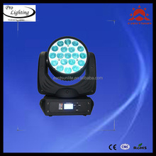New Products in China Market Full Colors LED Stage Lightings, 19PCS*12W 4in1 Beam Wash Zoom LED Moving Head Light