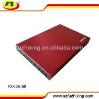 """12mm mini 2.5"""" USB 3.0 SATA HDD Enclosure for 320GB 500GB 1 TB Hard Disk Drive"""