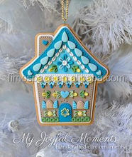 new product x'mas decoration patchwork patterns for hanging