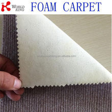 Top quality branded sponge rugs with foam backing