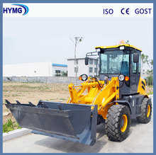 1.6ton mini construction equipment wheel loader with optional attachment