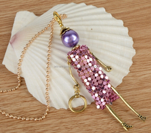 2015 Latest Doll Pendent Necklace Promotional Gift Necklace