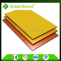 Greenbond design panels of indoor decorative metal insulated sheets