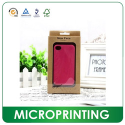 Colorful custom iphone 6 case packaging ,iphone case and cell phone retail packaing box