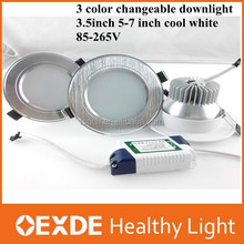 New Design CE Recessed 3.5 inch 5-7w cool white for Clothing Store led down lights zhongshan