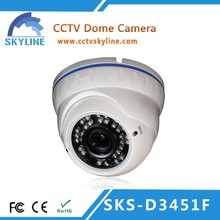 Vandal proof CCD Dome CCTV Systems Camera with Best selling products 650TVL Metal Housing