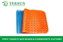 New design fashion durable PVC anti-slip massage bath mat