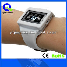 Colorful fashionable silicone band touch screen watch phone