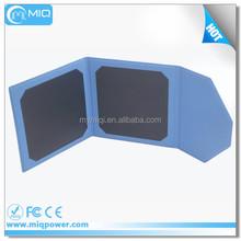 Shenzhen MiQ mobile solar power bank folding solar panel