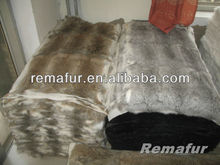 CHINCHILLA COLOR REX RABBIT FUR FOR GARMENT