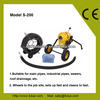 """2014 Professional Plumbing Tools, 8"""" Pipe Drain Cleaning Snake Machine, CE approved"""