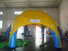 tan tent inflatable , LZ-E570 giant inflatable tent for party event/ exhibition/advertising