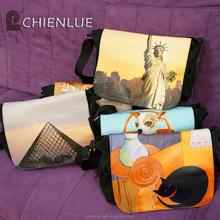 Fashion high guality canvas messenger bag /custom messenger bag /custom shoulder bag