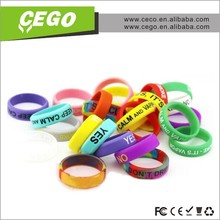Colorful mechanical mod vape band customized,beauty ring for e cig with factory price