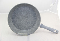 Ceramic Fry Pan14 16 18 20 cm Non Stick Coating full indcution pressed stone marble Frying pan