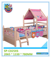 Great Qaulity Low Toddler Bed With Tent For New Born Baby Bedroom