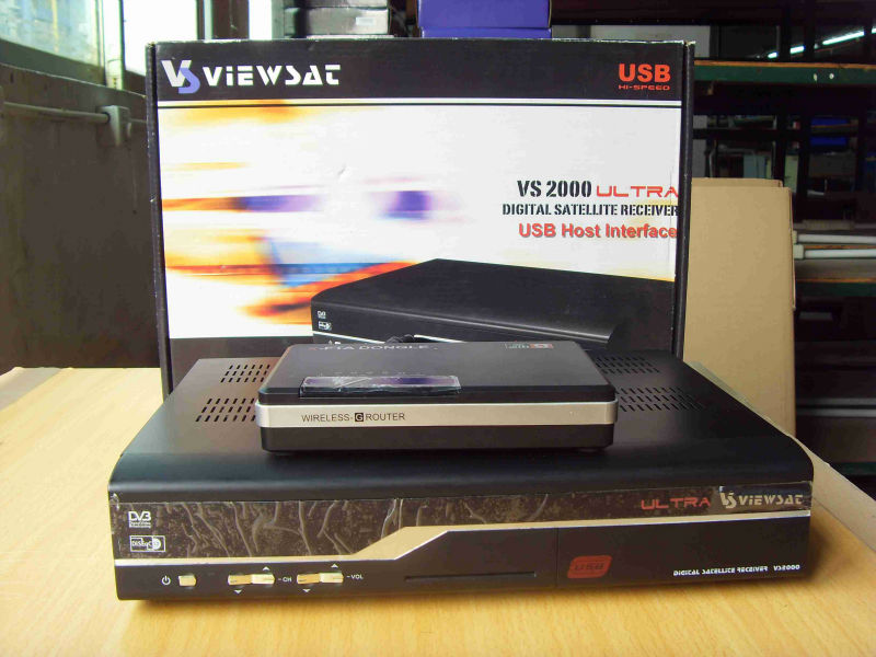 viewasat ultra satellite receiver with x-fta dongle, View viewsat ...