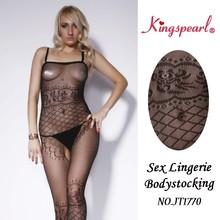 Sexy lingerie hot girl tight full bodystocking