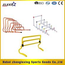 set plastic adjustable soccer training hurdles