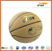 Mini PVC leather laminated indoor outdoor training basketballs