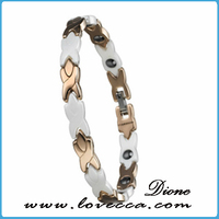 2014 Top quality best selling fashion new amazing effects! healing far infrared ray titanium bracelet