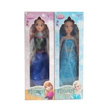 blanco como la nieve de la princesa de plástico de juguete de la muñeca para la niña