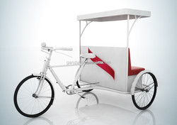Human power Rickshaw Tricycle for Beer