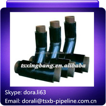 pipe fittings base tee for per insulated steel pipe for water supply
