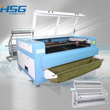 80W/100W/135W Leather/Fabric/Garment/Jeans/Textile/Shoes CO2 Laser Cutting Machine