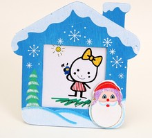 Lovly promotional mini wood frame photo for kids