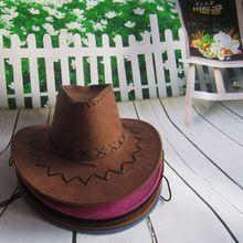 Fashion Wholesale Western Cowboy Hat Car Air Freshener With Cross Stitching