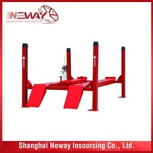 good quality used car lifts for sale with CE approved and cheap price from shanghai, china