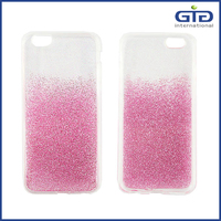 [NP-2486] NEW ARRIVAL FLEXIBLE EPOXY DESIGN GRADIENT SHIMMERING CASE FOR IPHONE 6