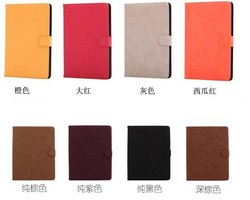 Hottest Product Matte Skin Flip Stand Leather Case For iPad Air 5